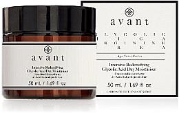 Parfums et Produits cosmétiques Émulsion de jour à l'acide glycolique - Avant Intensive Redensifying Glycolic Acid Day Moisturiser