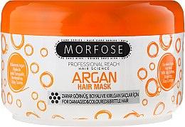 Parfums et Produits cosmétiques Masque d'argan pour cheveux abîmés, teints et cassants - Morfose Buble Argan Hair Mask