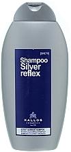 Parfums et Produits cosmétiques Shampooing déjaunissant - Kallos Cosmetics Silver Reflex Shampoo
