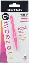 Parfums et Produits cosmétiques Pince à épiler mors boseauté, rose - Beter