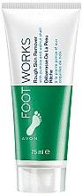 Parfums et Produits cosmétiques Crème à la pierre ponce et coquilles de noix pour peaux rêches - Avon Foot Works Rough Skin Remover