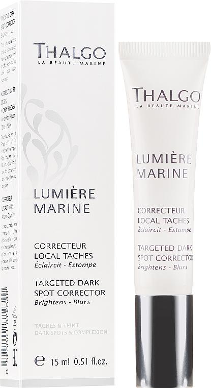 Thalgo Lumiere Marine Targeted Dark Spot Corrector - Soin local anti-taches pigemenatires à l'extrait d'algues brunes pour visage  — Photo N1