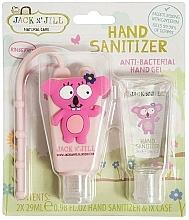 Parfums et Produits cosmétiques Jack N' Jill Hand Sanitizer Koala - Set (gel désinfectant pour mains/2x29 ml + étui)