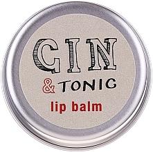 Parfums et Produits cosmétiques Baume à lèvres, Concombre et Fleur de sureau - Bath House Gin & Tonic Lip Balm Lemon & Juniper