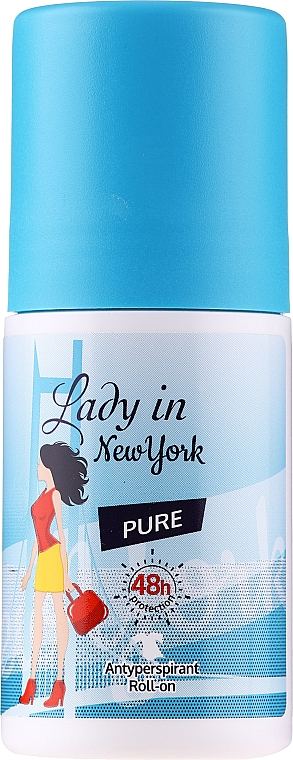 Déodorant roll-on - Lady In New York Pure Deodorant