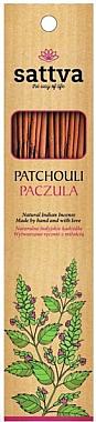 Bâtons d'encens Patchouli - Sattva Patchouli