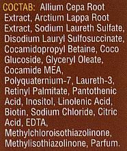 Shampooing aux extraits de bardane et oignon - Mirrolla — Photo N4