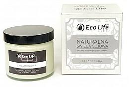 Parfums et Produits cosmétiques Bougie parfumée en cire de soja naturelle, Canelle - Eco Life Candles