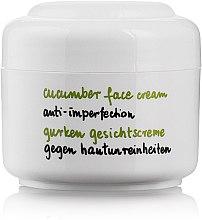 Parfums et Produits cosmétiques Crème à l'extrait de concombre pour visage - Ziaja Cucumber Face Cream