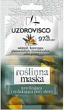 Parfums et Produits cosmétiques Masque rétrécissant les pores à l'extrait de plantes pour visage - Uzdrovisco Moisturizing Mask
