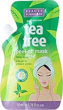 Parfums et Produits cosmétiques Masque peel-off à l'arbre à thé pour visage - Beauty Formulas Tea Tree Peel-Off Mask