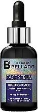 Parfums et Produits cosmétiques Sérum à l'acide hyaluronique pour visage - Fergio Bellaro Face Serum Hyaluronic Acid