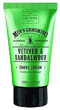 Parfums et Produits cosmétiques Crème à raser, Vétiver et Bois de santal - Scottish Fine Soaps Vetiver & Sandalwood Shave Cream