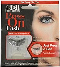 Parfums et Produits cosmétiques Faux-cils autocollants avec applicateur - Ardell Press On Lashes 101 Black