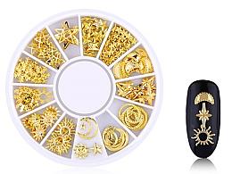 Parfums et Produits cosmétiques Décorations pour ongles, Gold-4 - Deni Carte