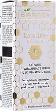 Parfums et Produits cosmétiques Sérum à l'huile d'amande douce pour visage - Bielenda Royal Bee Elixir