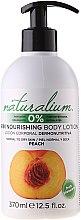 Parfums et Produits cosmétiques Lotion pour corps Pêche - Naturalium Body Lotion Peach