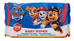 Parfums et Produits cosmétiques Lingettes nettoyantes, 56pcs - Nickelodeon Paw Patrol Baby Wipes