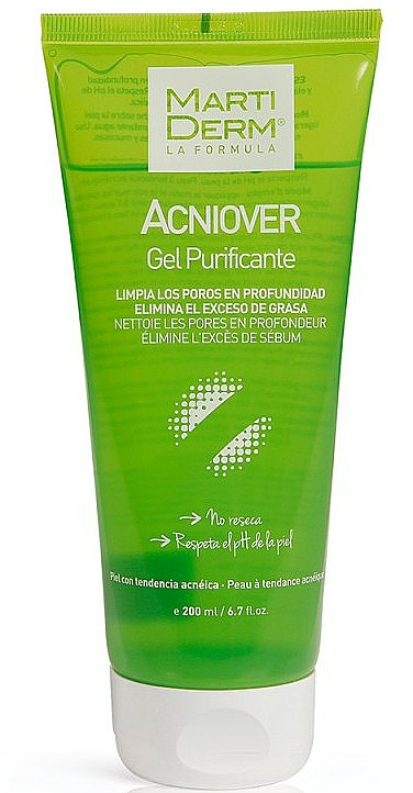 Gel nettoyant pour visage - MartiDerm Acniover Cleansing Gel — Photo N1