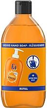 Parfums et Produits cosmétiques Savon liquide Orange (recharge) - Fa Hygiene & Fresh Orange Scent Liquid Soap