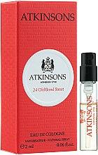 Parfums et Produits cosmétiques Atkinsons 24 Old Bond Street - Eau de Cologne (échantillon)