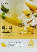 Parfums et Produits cosmétiques Masque tissu apaisant à l'extrait de banane pour visage - Esfolio Essence Mask Sheet