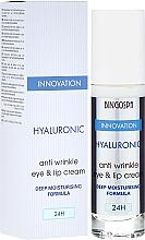 Parfums et Produits cosmétiques Crème à l'acide hyaluronique pour le contour des yeux et des lèvres - BingoSpa Hyaluronic Anti Wrinkle Eye & Lip Cream