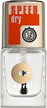 Parfums et Produits cosmétiques Top coat à séchage rapide - Delia Speed Dry Top Coat