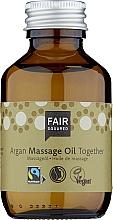 Parfums et Produits cosmétiques Huile de massage à l'huile d'argan pour corps - Fair Squared Argan Massage Oil Together