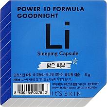 Parfums et Produits cosmétiques Masque de nuit en capsule - It's Skin Power 10 Formula Goodnight Li Sleeping Capsule