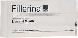 Parfums et Produits cosmétiques Gel repulpant à l'acide hyaluronique pour lèvres et contour des lèvres - Fillerina Lips And Mouth Grade 4 Plus