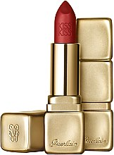 Parfums et Produits cosmétiques Rouge à lèvres mat et hydratant - Guerlain KissKiss Matte Lipstick