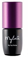 Parfums et Produits cosmétiques Top coat pour vernis semi-permanent - MylaQ My Top Matte