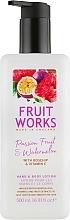Parfums et Produits cosmétiques Lotion à la rose musquée et vitamine E pour corps et mains - Grace Cole Fruit Works Hand & Body Lotion Passion Fruit & Watermelon