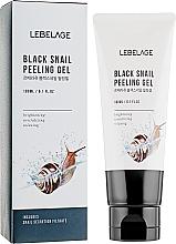 Peeling gel à la bave d'escargot pour visage - Lebelage Black Snail Peeling Gel — Photo N1