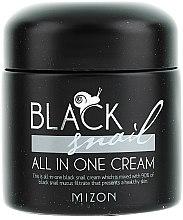 Parfums et Produits cosmétiques Crème à la bave d'escargot noir pour visage - Mizon Black Snail All In One Cream