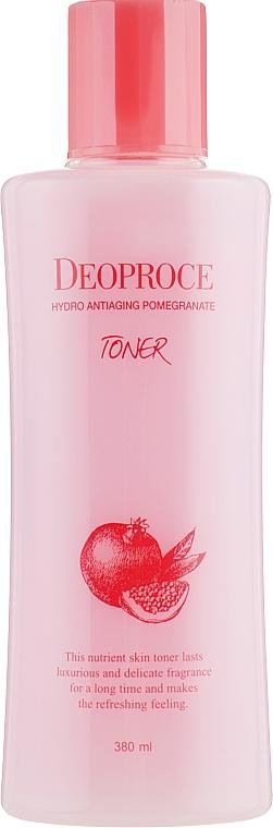 Lotion tonique à l'extrait de grenade pour visage - Deoproce Hydro Antiaging Pomegranate Toner