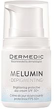 Parfums et Produits cosmétiques Crème de jour éclaircissante à la niacinamide - Dermedic MeLumin Depigmenting Cream SPF 50+