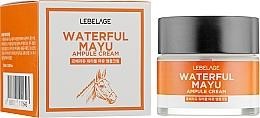 Parfums et Produits cosmétiques Crème à l'huile de cheval pour visage - Lebelage Waterful Mayu Ampule Cream