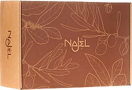 Parfums et Produits cosmétiques Najel For Him Special Set - Coffret cadeau(savon/100g+ pierre d'alun/90g+huile/125ml+porte savon/1pcs)