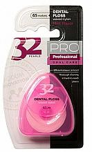 Parfums et Produits cosmétiques Fil dentaire, 32 Pearls PRO, étui rose - Modum 32 Pearls Dental Floss