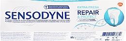 Parfums et Produits cosmétiques Dentifrice réparateur et protecteur - Sensodyne Repair&Protect Extra Fresh