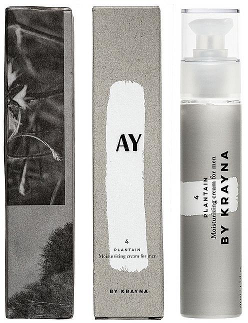 Crème nourrissante à l'extrait de menthe poivrée pour visage - Krayna AY4 Plantain Cream For Man — Photo N1
