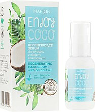 Parfums et Produits cosmétiques Sérum capillaire régénérant à l'huile de noix de coco - Marion Enjoy Coco Serum