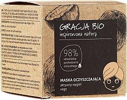 Parfums et Produits cosmétiques Masque nettoyant au charbon actif pour visage - Gracja Bio