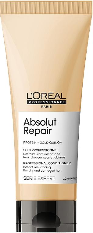 Après-shampooing pour cheveux abîmés - L'Oreal Professionnel Absolut Repair Gold Quinoa +Protein Conditioner