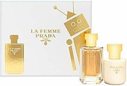 Parfums et Produits cosmétiques Prada La Femme Prada - Coffret (eau de pardum/50ml + lotion corps/100ml)