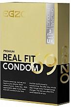 Parfums et Produits cosmétiques Préservatifs, 3pcs - Egzo Real Fit