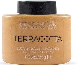 Parfums et Produits cosmétiques Poudre cuite luxe pour visage - Makeup Revolution Terracotta Luxury Baking Powder