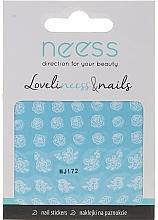 Parfums et Produits cosmétiques Autocollants pour ongles, 3692, MJ172 - Neess